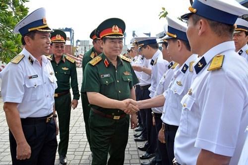 参加生产劳动 发展经济一直是军队的职能和任务 hinh anh 1