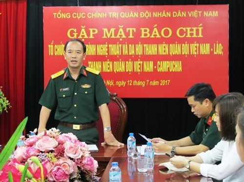 越老柬青年军官众多交流活动即将举行 hinh anh 1