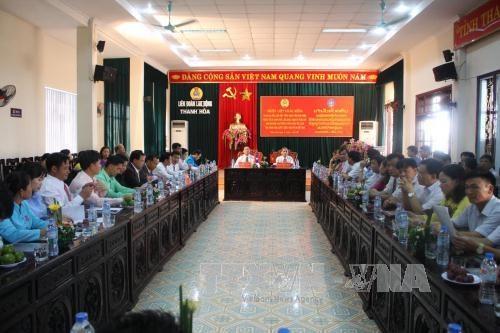 越南清化省着力加强与老挝华潘省的友好合作关系 hinh anh 1