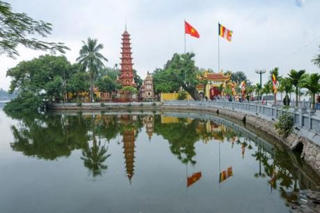 河内最古老的寺庙——镇国寺 hinh anh 1