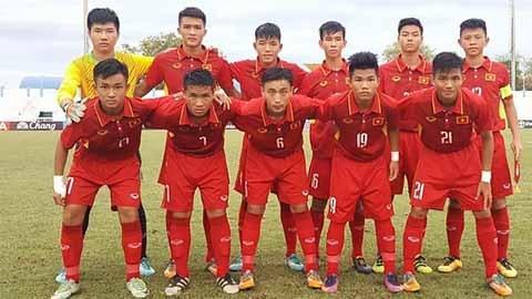 2017年东南亚U15足球锦标赛:越南U15队提前晋级半决赛 hinh anh 1