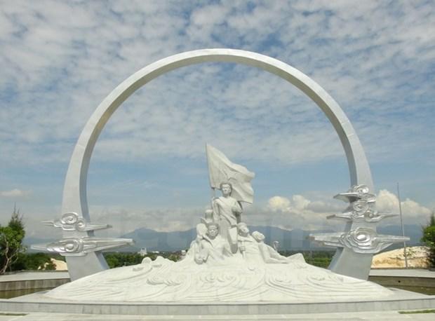 庆和省鬼鹿角战士纪念区一期工程正式落成 hinh anh 1