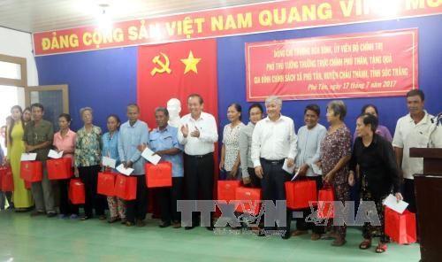 张和平:朔庄省需努力落实好民族政策和做好减贫工作 hinh anh 2