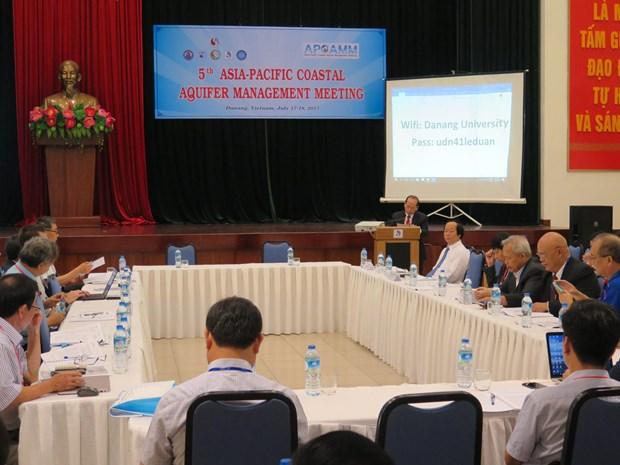 第五届亚太地区海岸带含水层管理国际会议在岘港市举行 hinh anh 1