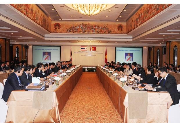 越泰政治安全合作联合工作组召开第九次会议 hinh anh 1