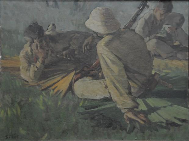 """越南伤残军人和烈士日70周年:""""不可忘记的岁月""""画展在河内举行 hinh anh 1"""