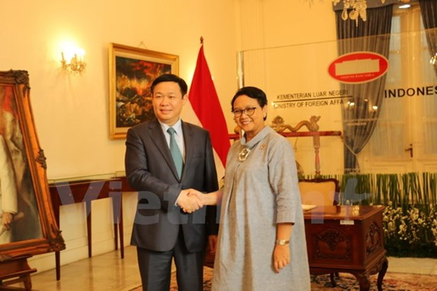 政府副总理王廷惠对印尼进行工作访问 hinh anh 1