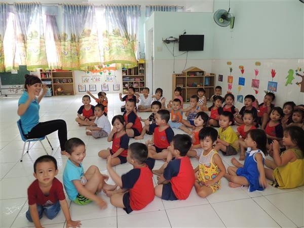 """联合国儿童基金会将胡志明市选为""""儿童友好型城市倡议""""实施城市 hinh anh 1"""