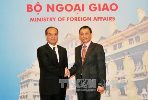 越南外交部与中国广东省第六次合作协调会议在河内召开 hinh anh 1