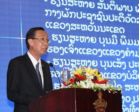 胡志明市加大对老挝中部地区的投资力度 hinh anh 1