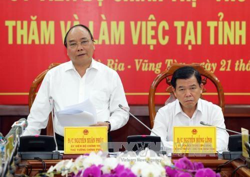 阮春福总理:巴地头顿省正在迎来发展转折点 hinh anh 1