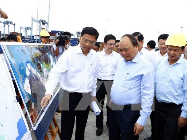 阮春福总理:盖梅国际港应努力实现更高质量、更快速度的稳定增长 hinh anh 1