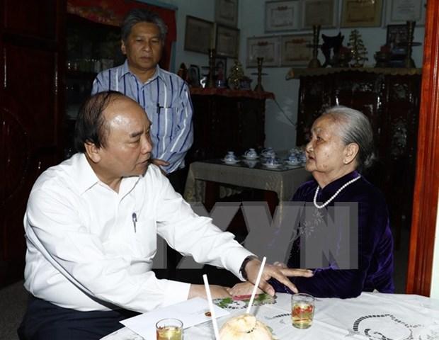 阮春福总理:集中资源 协助槟椥省有效应对气候变化 hinh anh 2