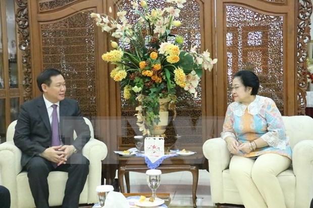 越南与印尼深化战略伙伴关系 hinh anh 1