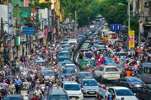 阮春福将担任河内市和胡志明市防止交通拥堵指导委员会主任 hinh anh 2