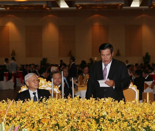 柬埔寨人民党主席洪森:尽全力巩固发展越柬传统的团结友谊和全面合作 hinh anh 2