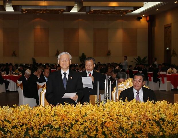 柬埔寨人民党主席洪森:尽全力巩固发展越柬传统的团结友谊和全面合作 hinh anh 3