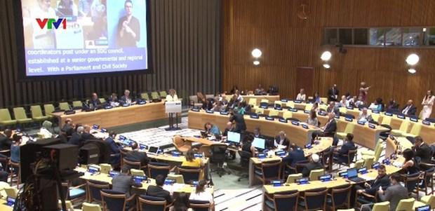 越南积极实现联合国可持续发展目标 hinh anh 1
