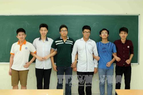 越南在2017年国际数学奥林匹克竞赛中获得史上最好成绩 hinh anh 1