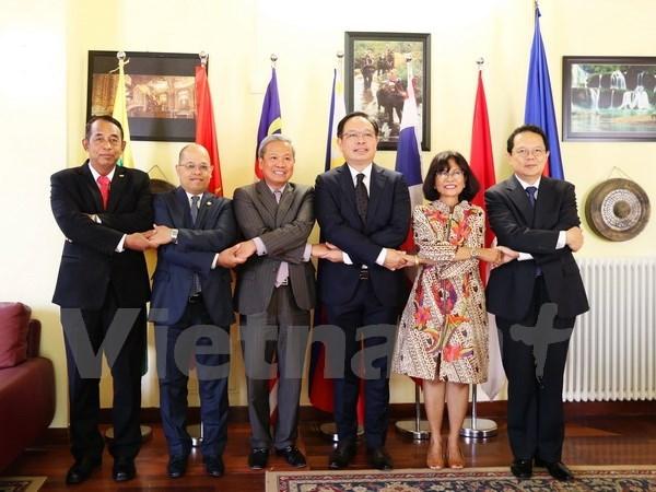 越南出色完成东盟罗马委员会轮值主席工作任务 hinh anh 1