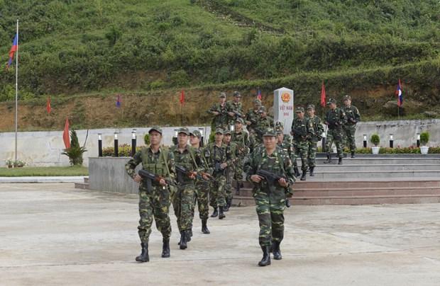 第一届越老边境友谊交流活动:两国举行诸多富有意义的活动 hinh anh 1