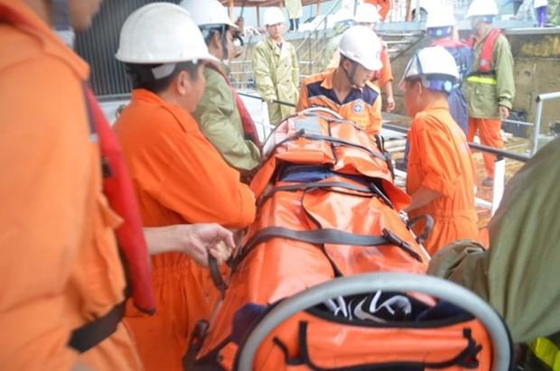越南成功救助海上突然得脑中风的一名中国籍船员 hinh anh 1