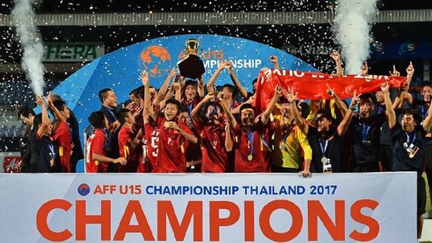 越南队点球大战以4比2击败泰国队 问鼎冠军 hinh anh 1