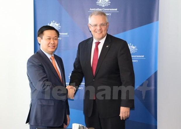 政府副总理王廷惠对澳大利亚进行工作访问 hinh anh 1