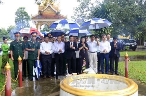 越南伤残军人与烈士日纪念活动在老挝举行 hinh anh 1