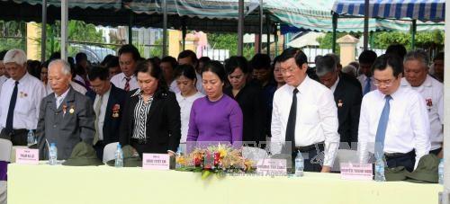 越南伤残军人与烈士日70周年:政府领导开展走访慰问和知恩报恩活动 hinh anh 3