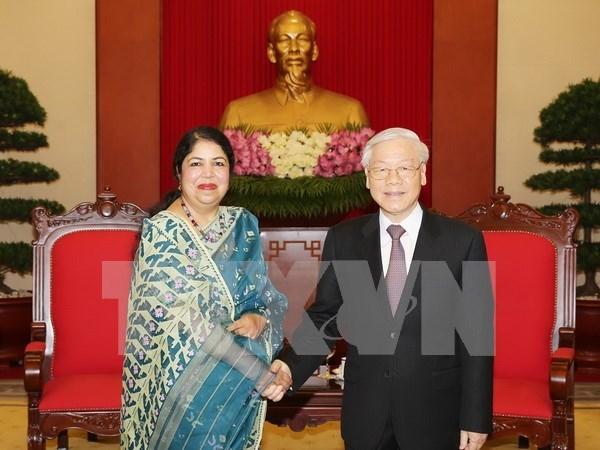 孟加拉国重视发展与越南传统友好和良好合作关系 hinh anh 1