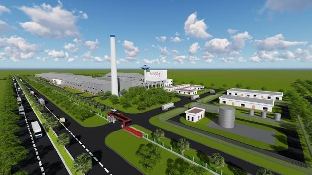 越南首家超白浮法玻璃生产厂在巴地头顿省开工建设 hinh anh 2