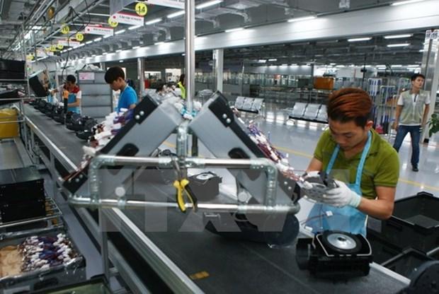 越南加工制造业吸引外资总额近1807亿美元 hinh anh 1