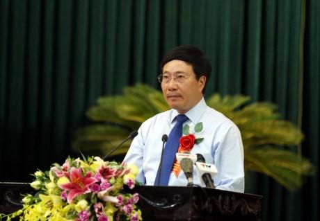 范平明副总理:清化省做好报恩答义工作 hinh anh 1