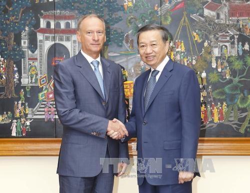 越南公安部与俄罗斯联邦国家安全委员会加强合作 hinh anh 3