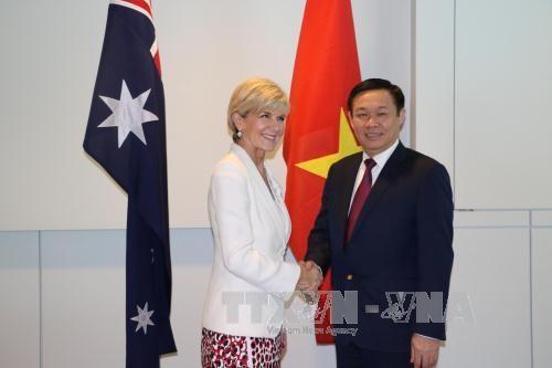 澳大利亚强调优先促进与越南的关系 hinh anh 2