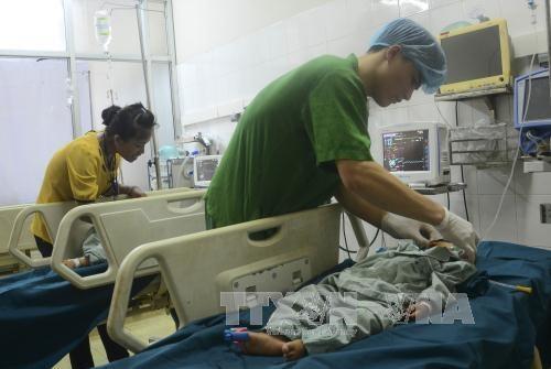 越南谅山省为残疾儿童免费手术 hinh anh 1