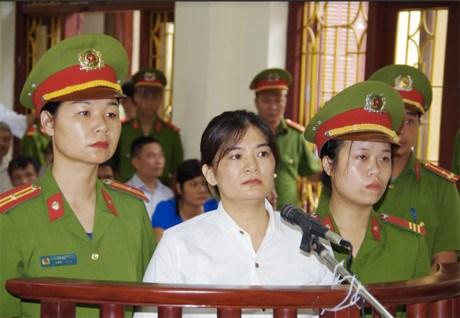陈氏娥因煽动宣传反国家罪被判九年监禁 hinh anh 1