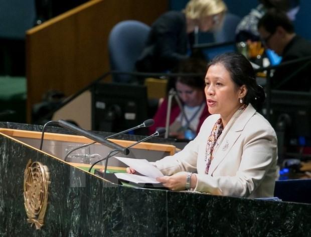 """越南支持在""""两国方案""""的基础上解决巴以争端 hinh anh 1"""