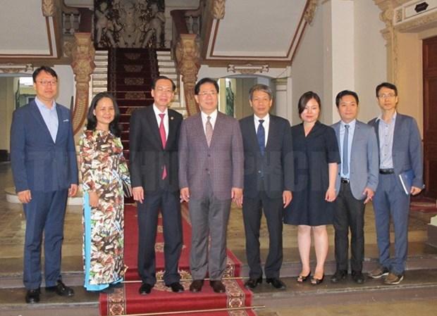 胡志明市被邀请参与东北亚地区地方政府联合会 hinh anh 1