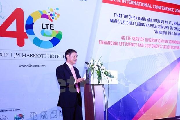 大力促进第四代移动通信系统多样化 为消费者提供服务 hinh anh 1