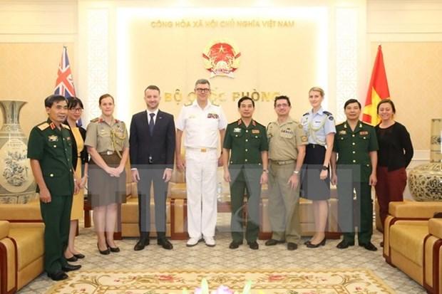 越南与澳大利亚加大防务合作力度 hinh anh 1