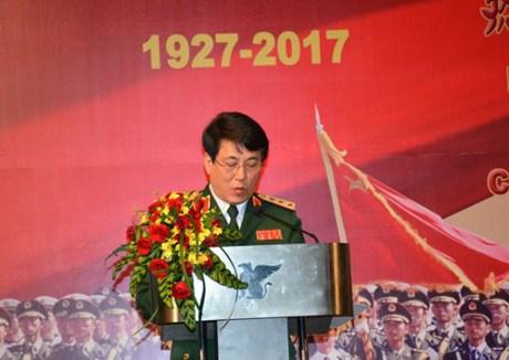 中国人民解放军建军90周年招待会在河内举行 hinh anh 1