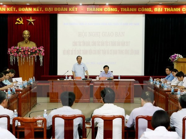 越南奋力做好宗教和民族工作 hinh anh 1