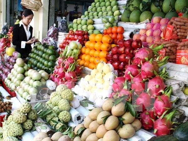2017年前7个月越南蔬果出口额超过20亿美元 hinh anh 1