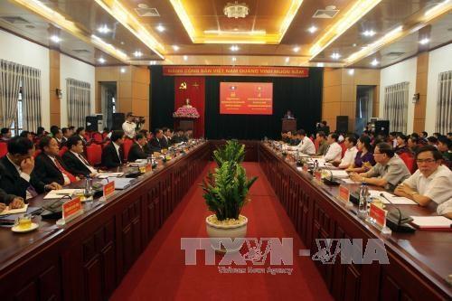 进一步加强越南山罗省与老挝北部各省之间的教育合作 hinh anh 1