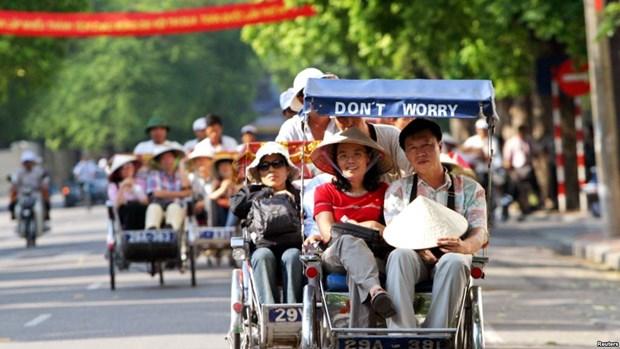 2017年前7个月访越中国和俄罗斯游客量猛增 hinh anh 1