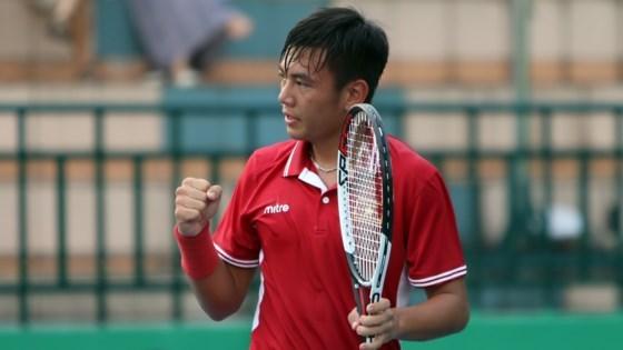 2017年泰国男网F4未来赛:李黄南进次轮 hinh anh 1