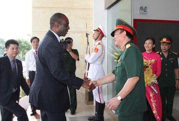莫桑比克总理德罗萨里奥访问越南国家自然灾害应急搜救委员会 hinh anh 1