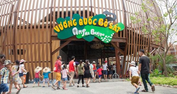 河内首个Safari野生动物园正式开门迎客 hinh anh 1